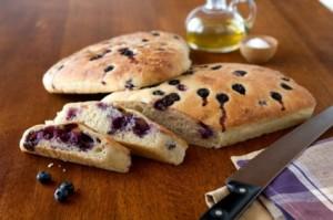 Chef Julia's Favorite Recipes – Blueberry Foccacia