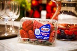 California Giant Berries in the Big Apple