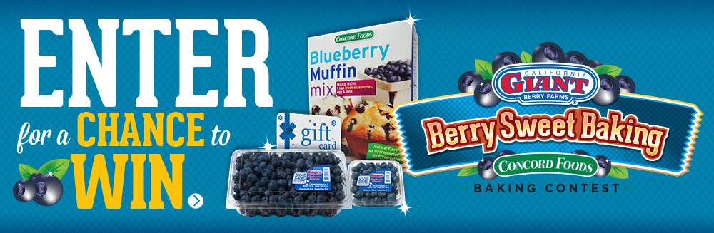 Win $250 in our Berry Sweet Baking Contest