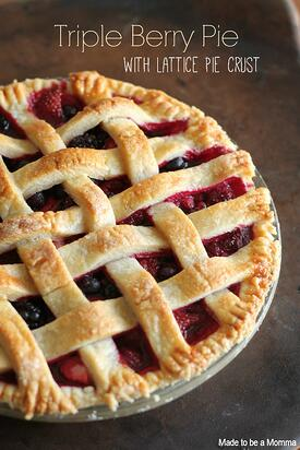 Triple-Berry-Pie