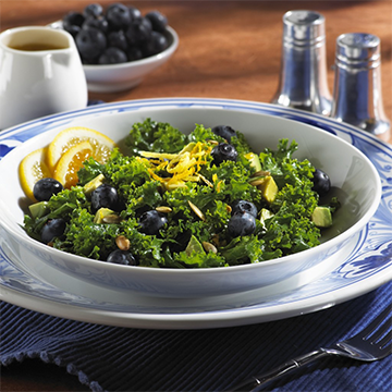 Citrus Kale Salad- The Perfect Side for Spring!