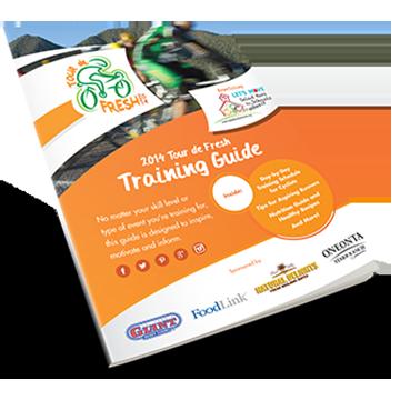The Official Tour de Fresh Training Guide
