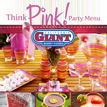 A Menu to Commemorate Breast Cancer Awareness Month