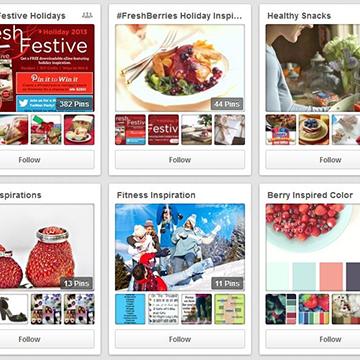 Twelve Days of Sharing #7: Berry Pinspiration!