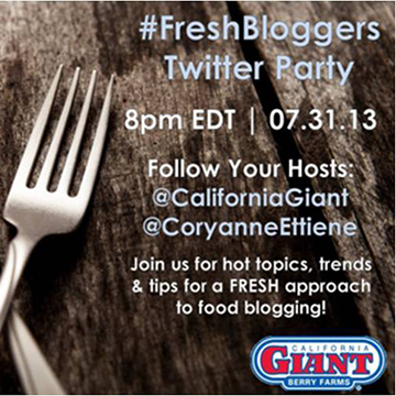 Let's #Party with Fresh Bloggers