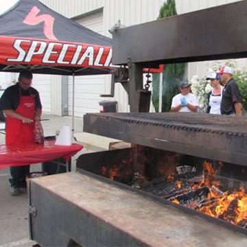 LIVE from our Annual Skirt Steak BBQ Fundraiser!