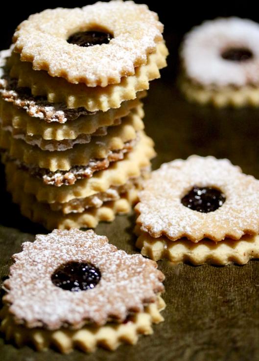 Merry Berry Jam Tarts