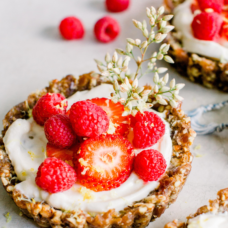 No Bake Berry Tart (3)