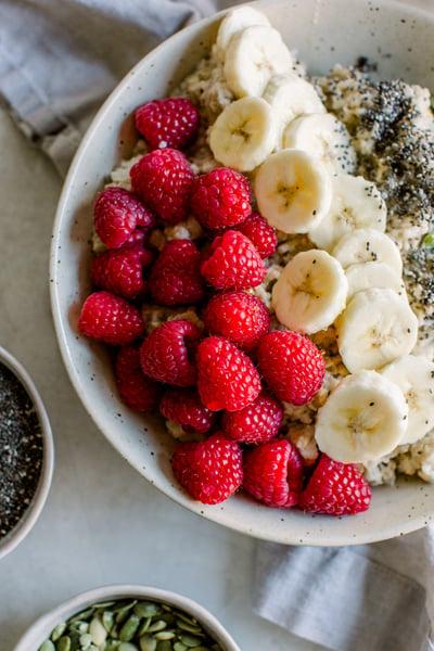 Raspberry Banana Oatmeal Boost (4)