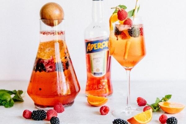 Berry Aperol Spritz