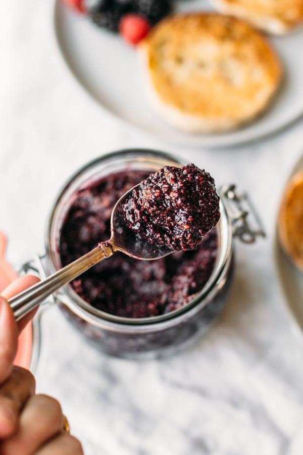 blackberry chia jam-1