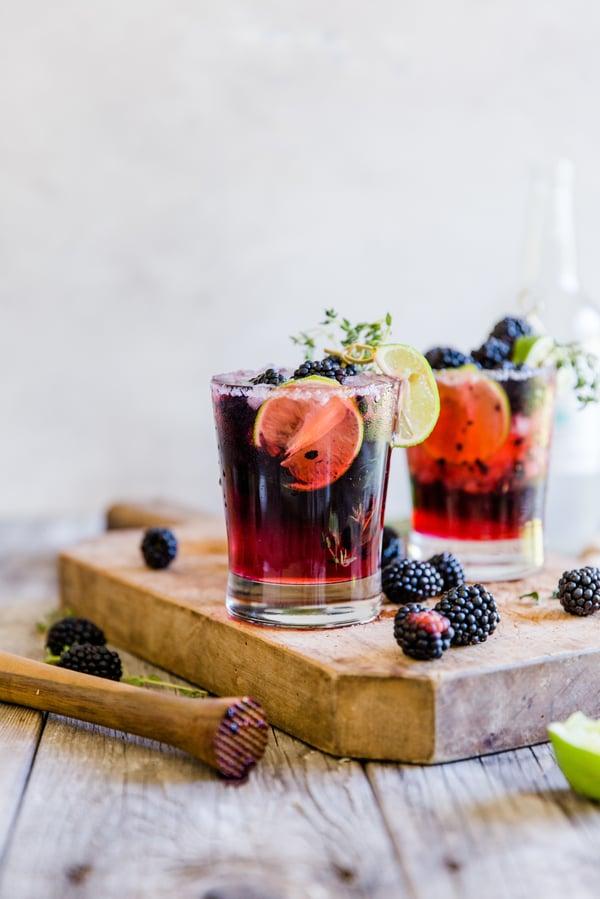 blackberry thyme margarita-6