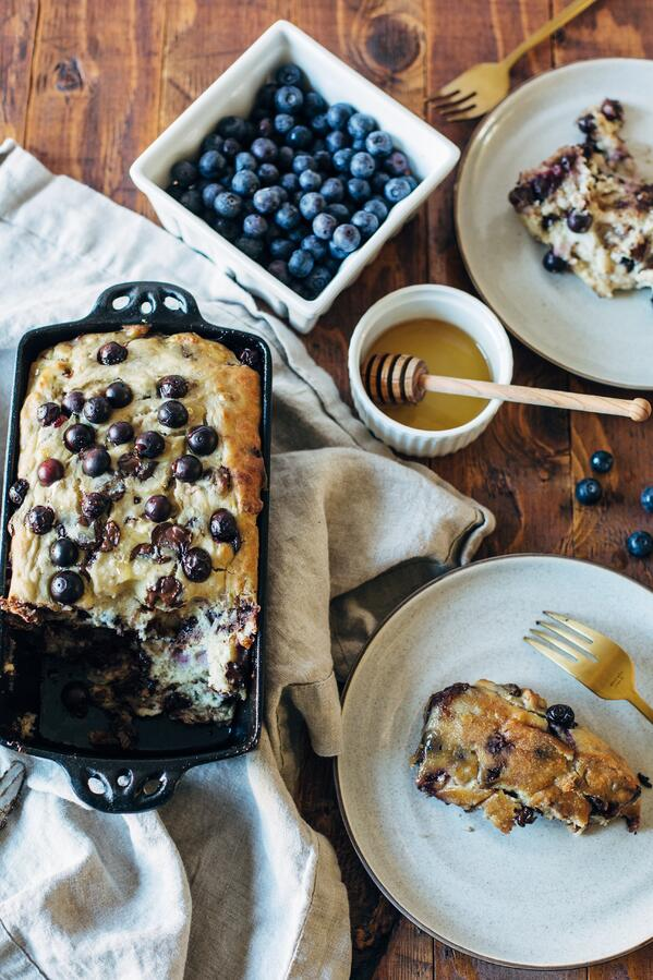 blueberry banana bread-10