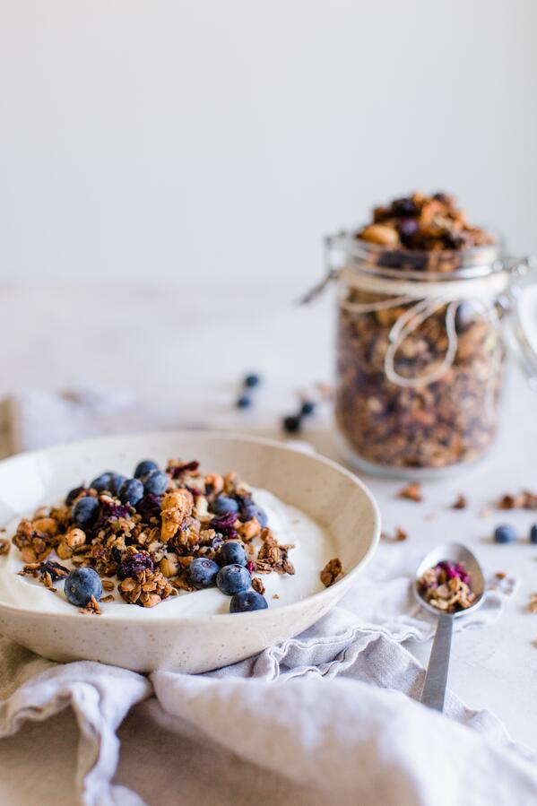 blueberry cashew granola-2