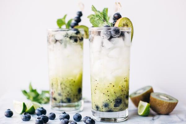 blueberry kiwi mojito-8