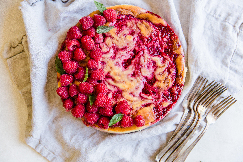 classic raspberry cheesecake-2