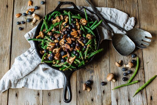 Shiitake Mushroom and Green Bean Casserole