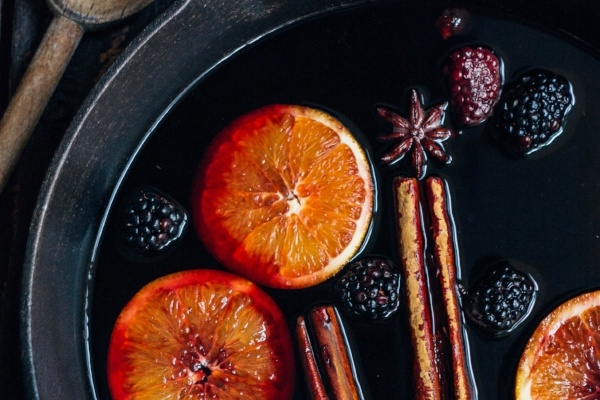 Blackberry Mulled Wine