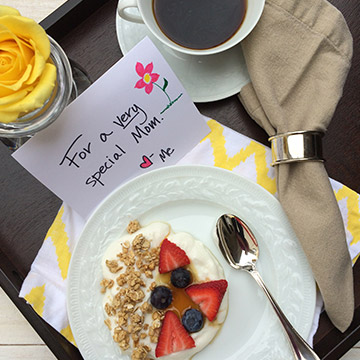 5 Breakfast in Bed Recipes for Mother's Day