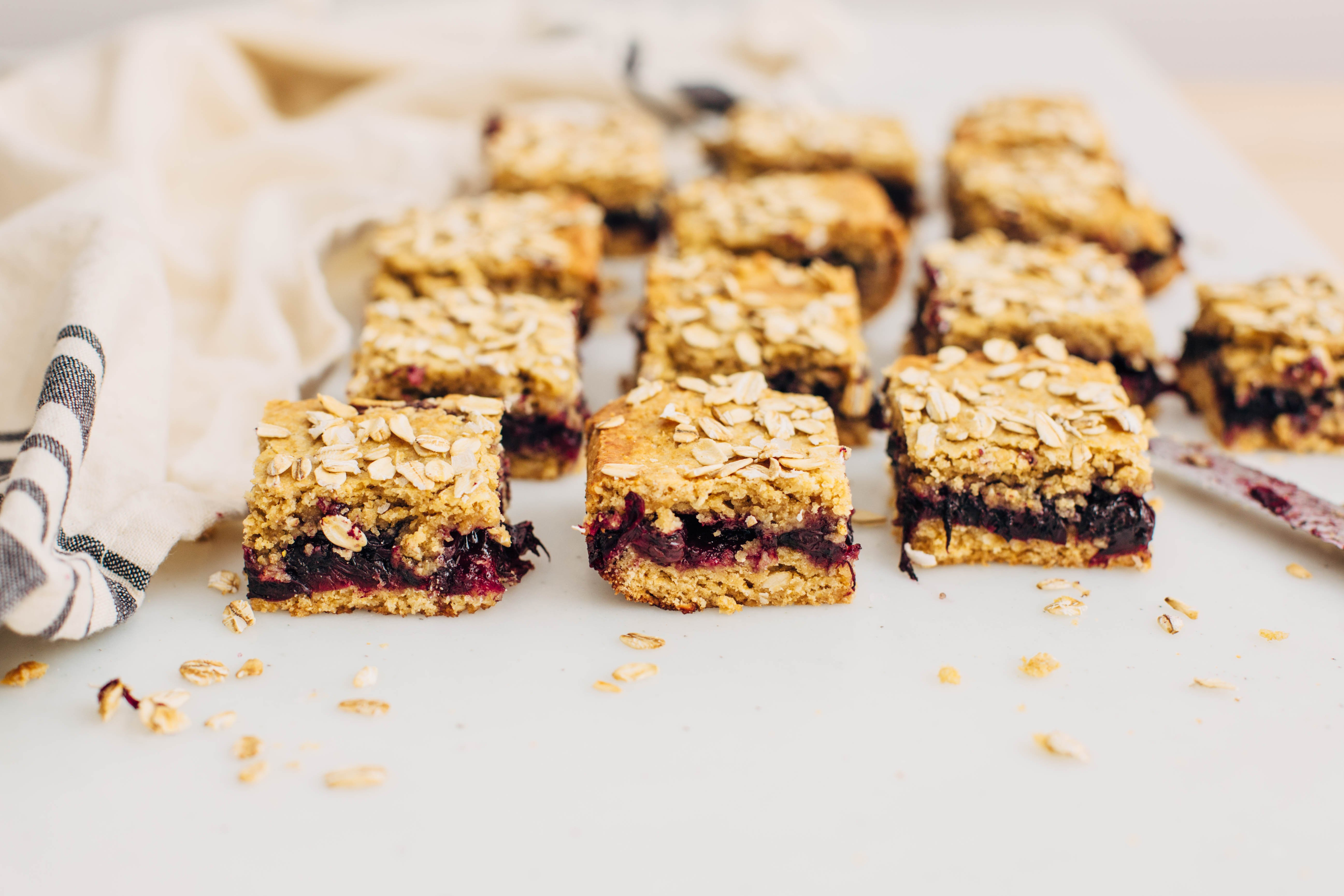 Homemade Blueberry Cookie Bars