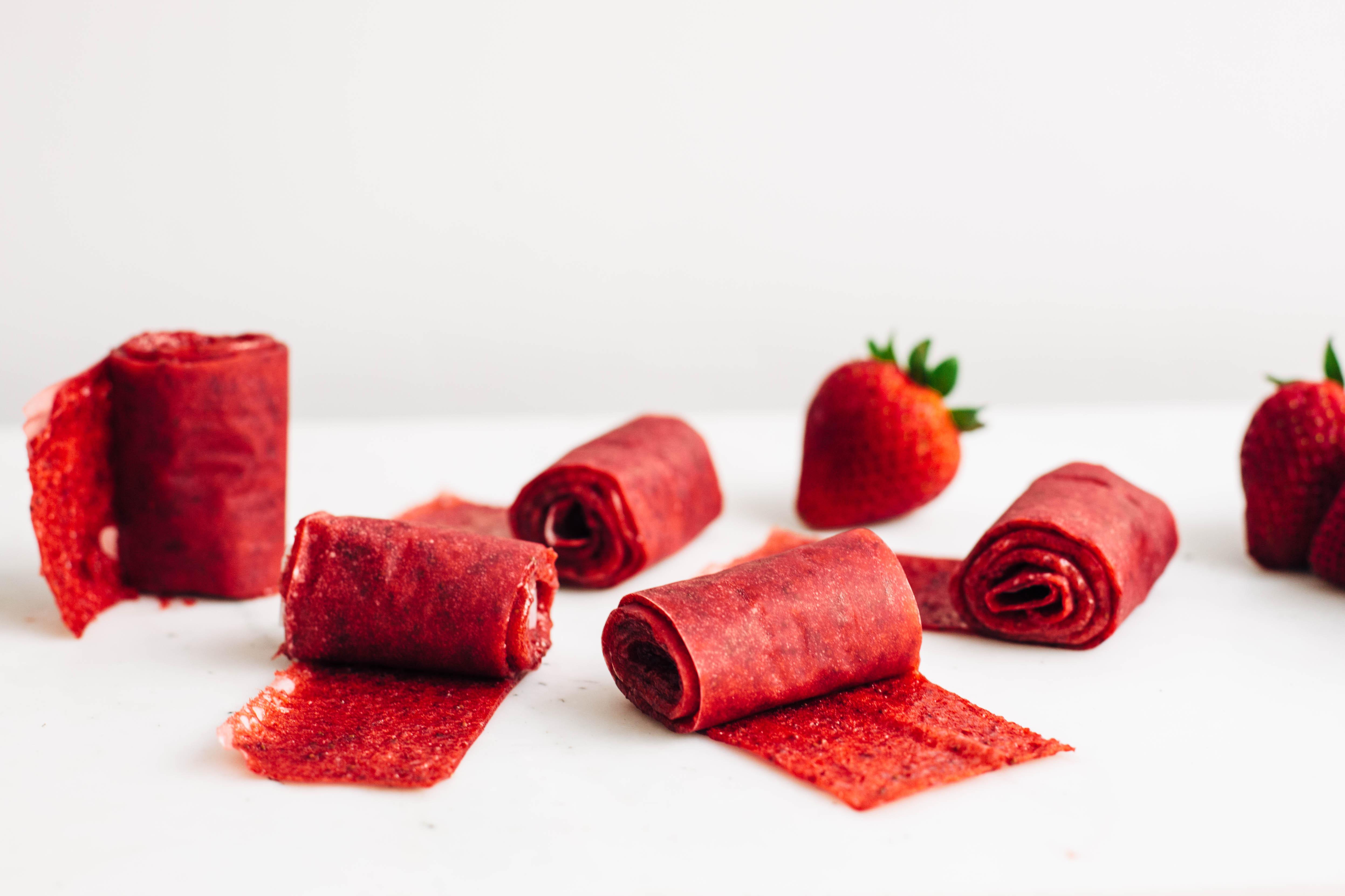 Strawberry Fruit Roll-Ups