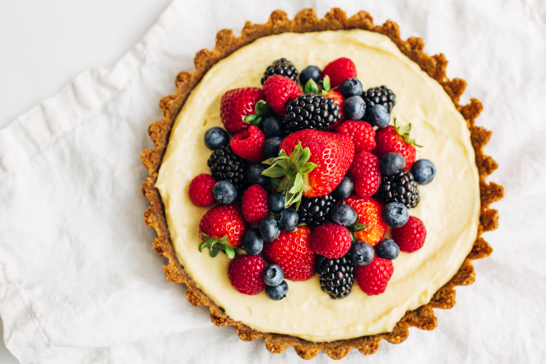 Mixed Berry Tart