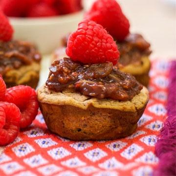 Paleo Raspberry Muffins