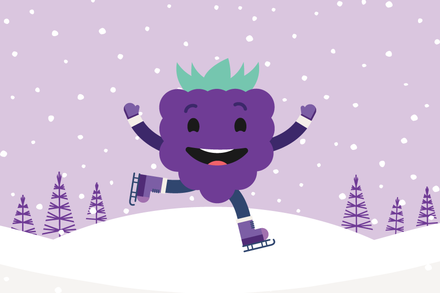 Berry Winter Games - Team Blackberry!