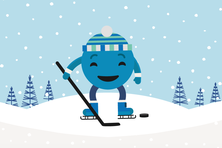 Berry Winter Games - Team Blueberry!