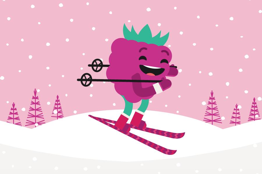 Berry Winter Games - Team Raspberry!