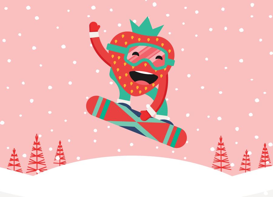 Berry Winter Games - Team Strawberry!