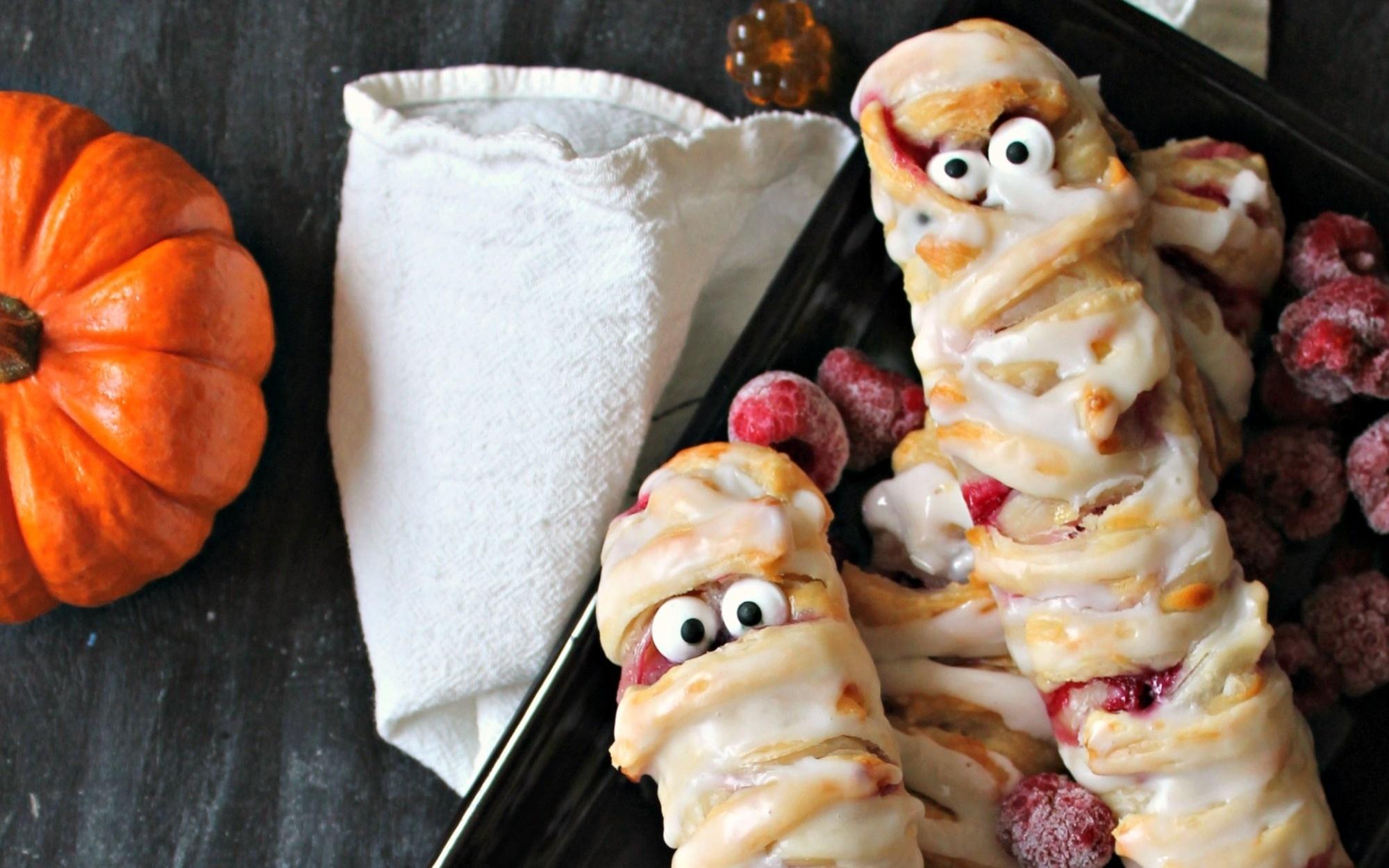 Berry & Cheese Danish Mummies