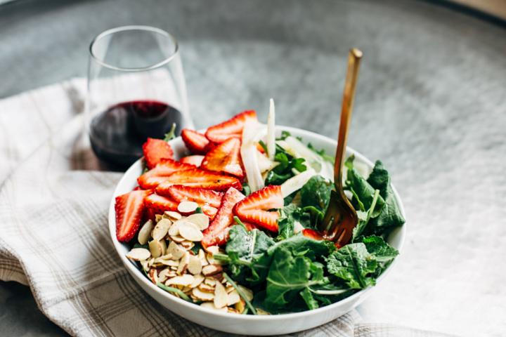 Strawberry, Kale & Fennel Salad