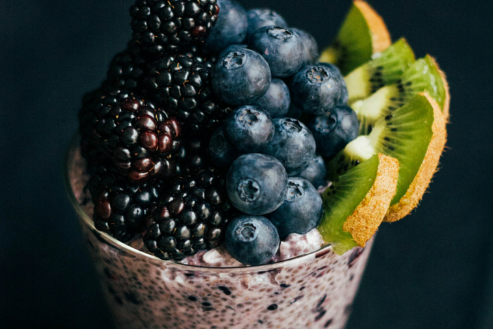 Blackberry Chia Pudding