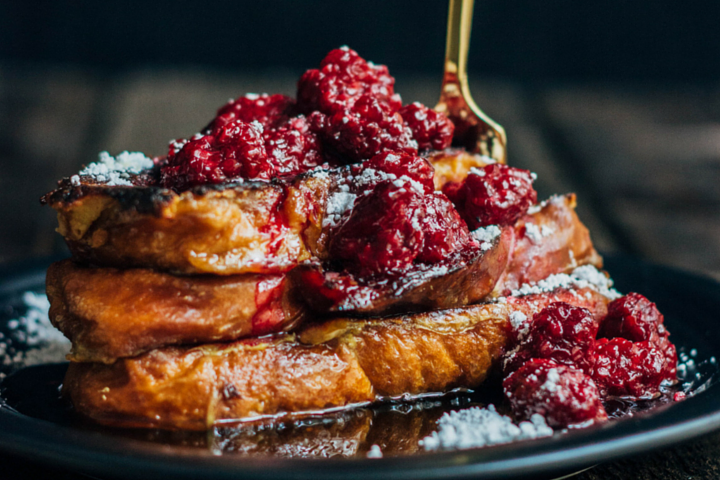 Blackberry French Toast