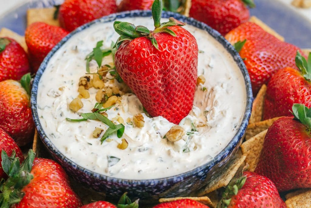 Whipped Goat Cheese and Herb Dip