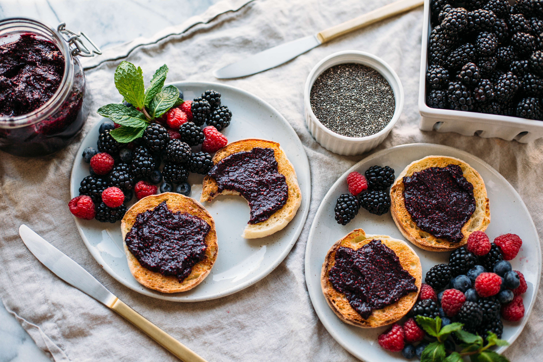 Blackberry Vanilla Chia Jam