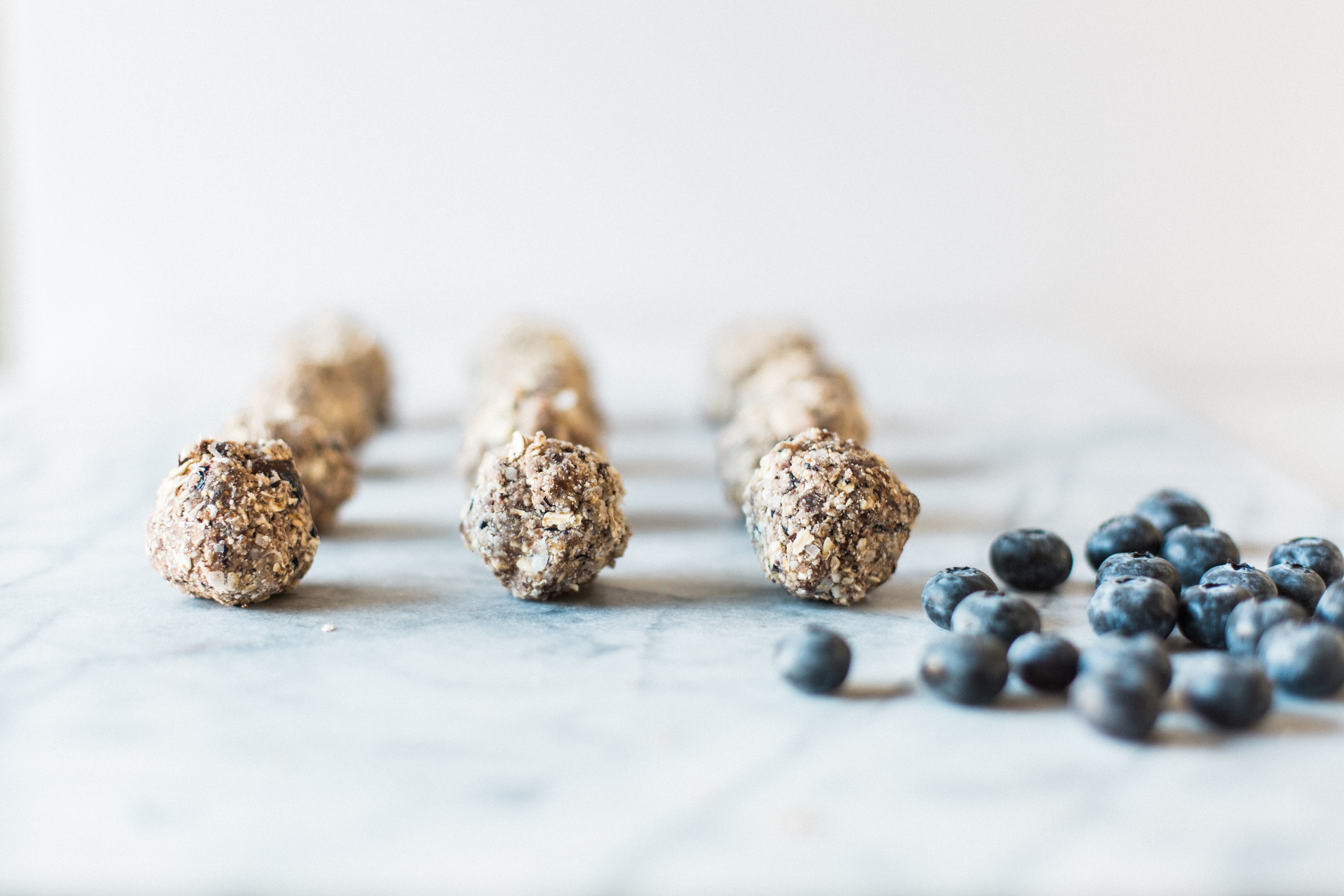 Blueberry Energy Bites
