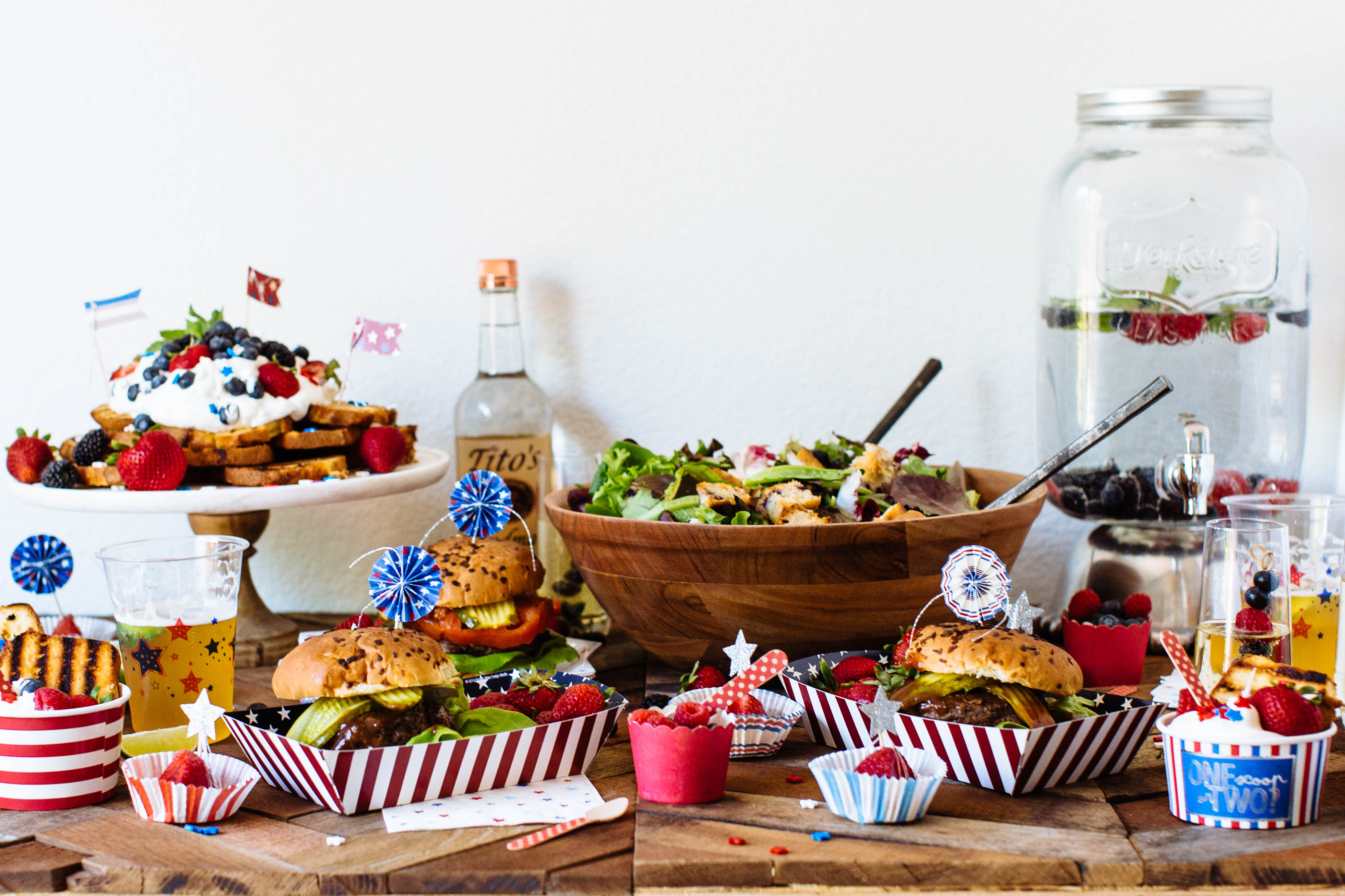 The Perfect Fourth of July Party Spread