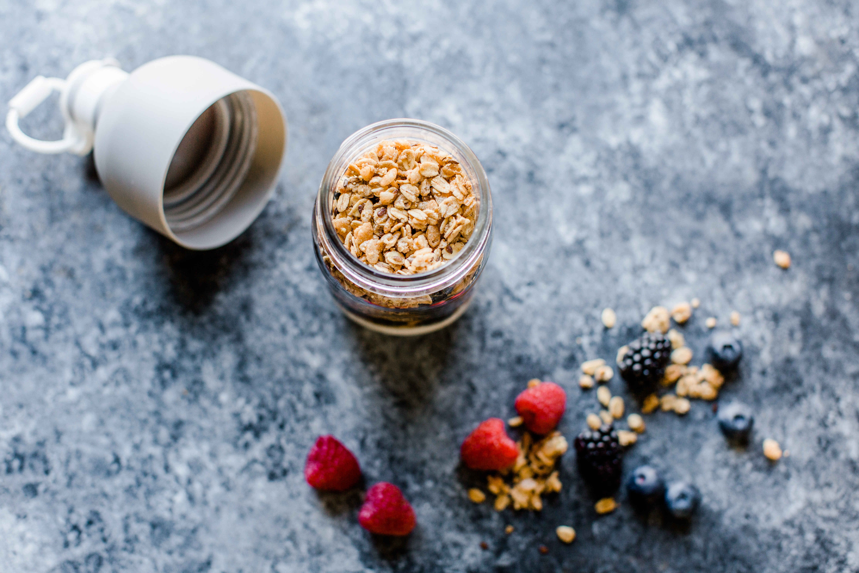 Granola Berry Yogurt Stackers