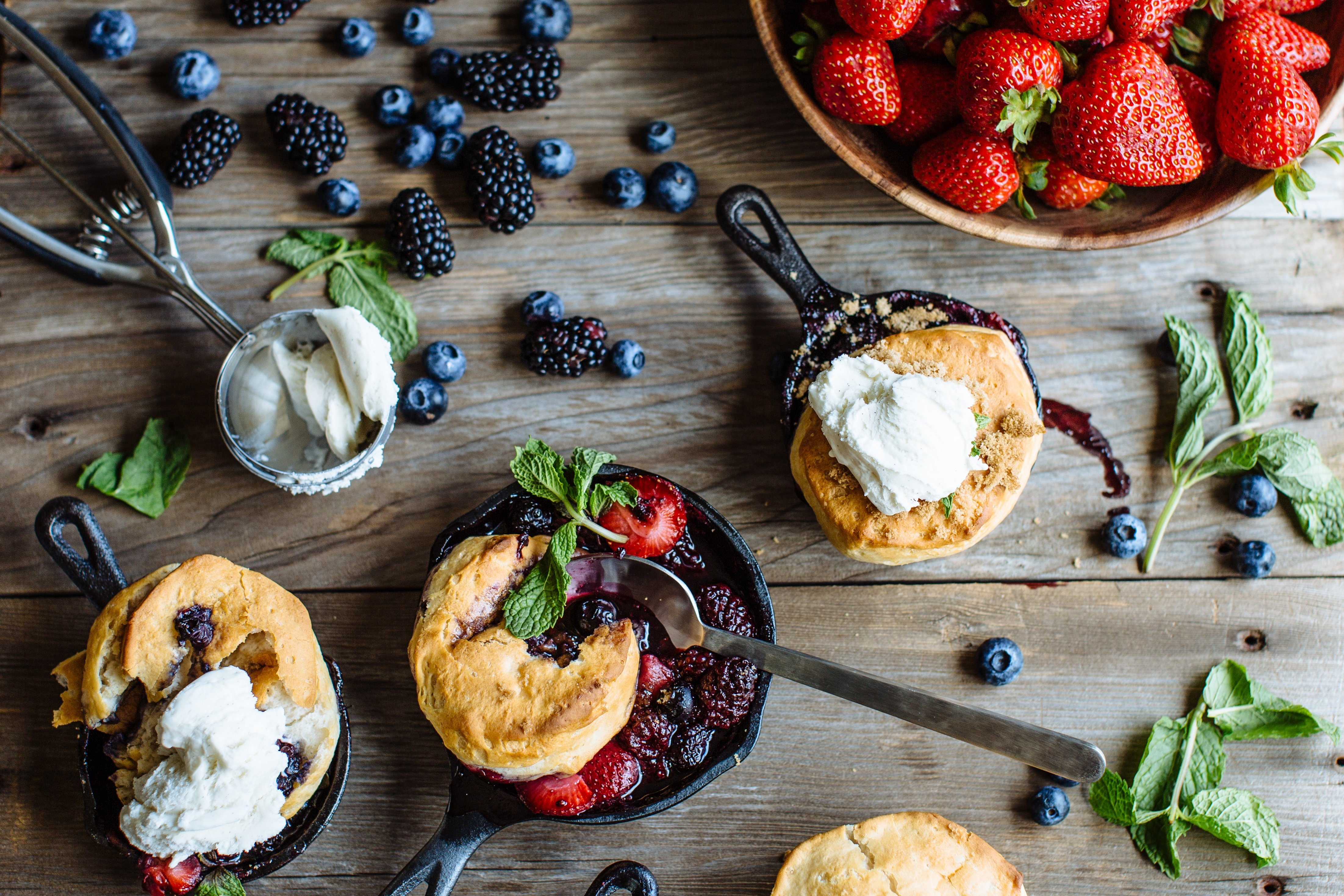 Biscuits and Berries