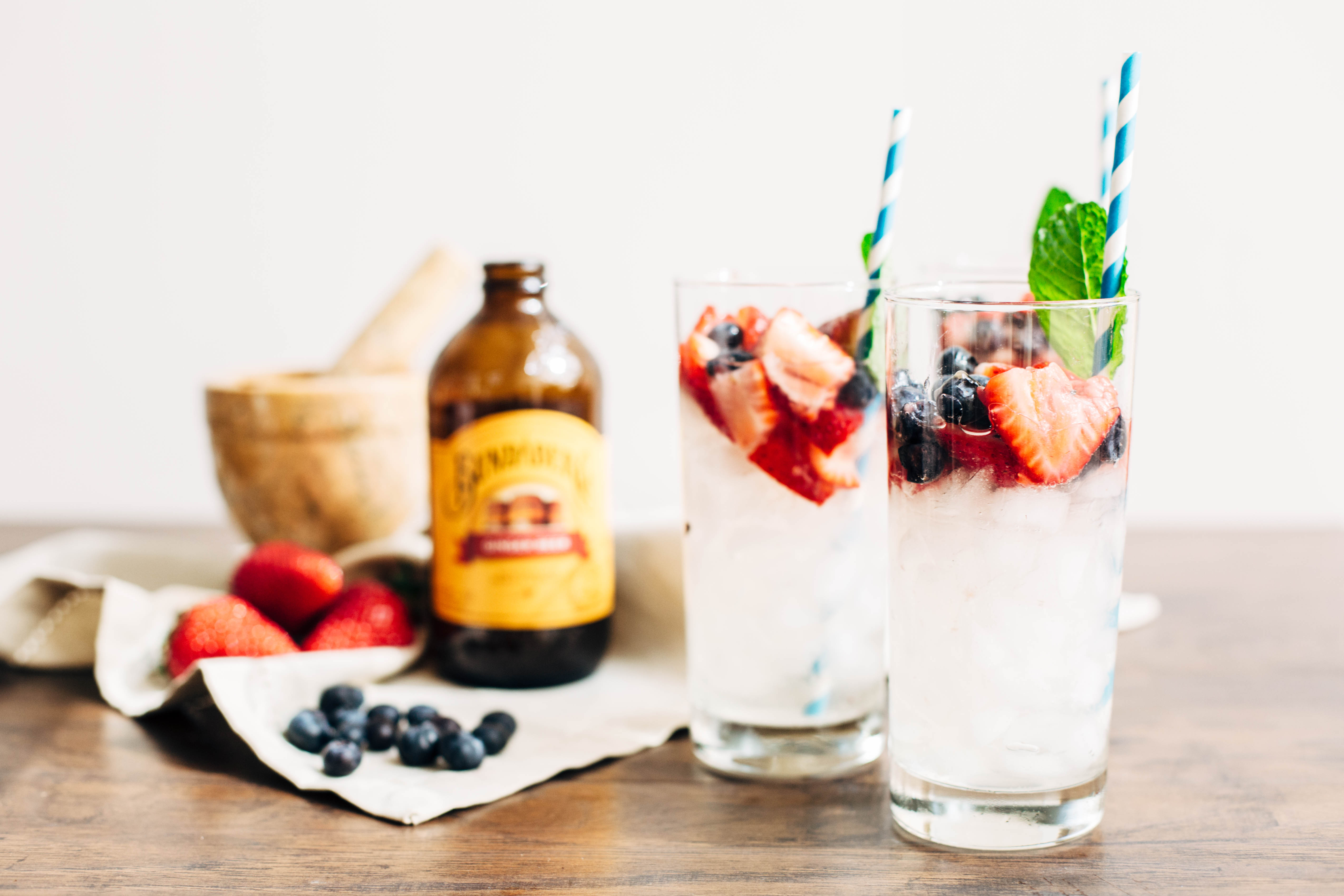 Spring-Inspired Berry Moscow Mule